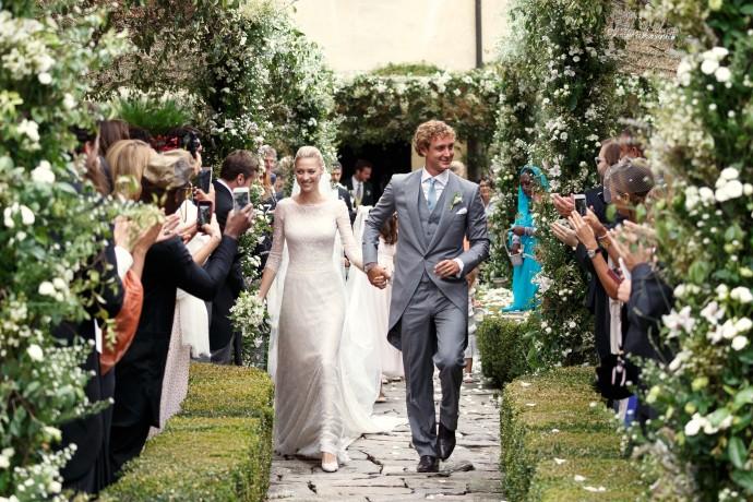 Beatrice Borromeo And Pierre Casiraghi Wedding E1440775962264