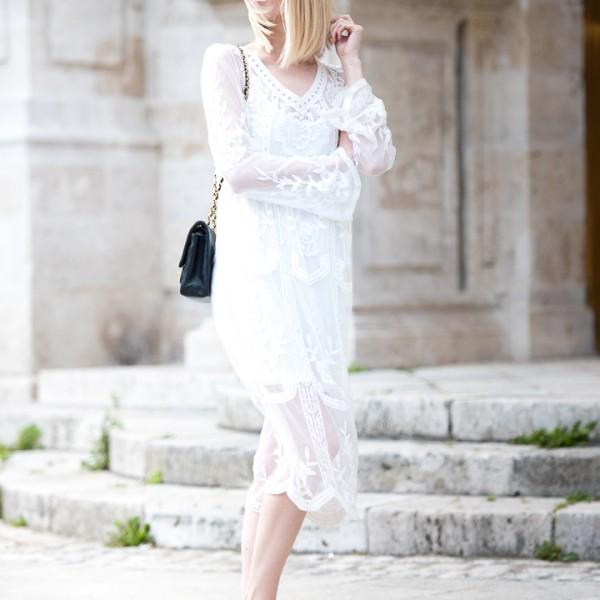 White Lace Dress 5
