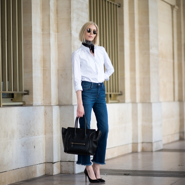 How To Wear A White Shirt In Different Ways 4