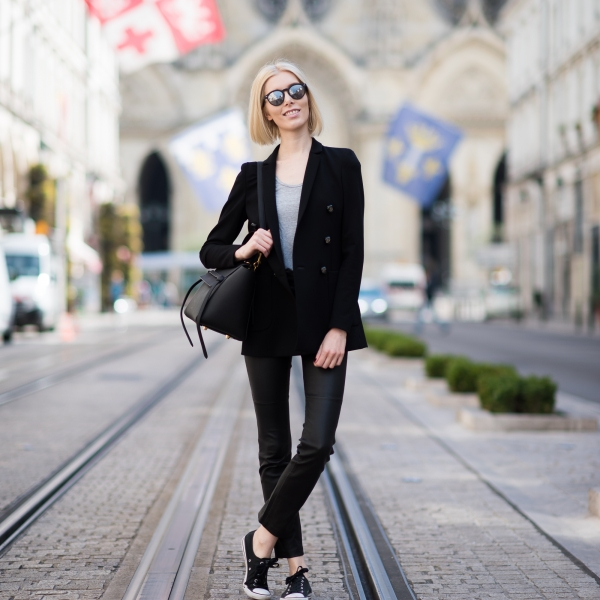 Leather Pants Outfit 17