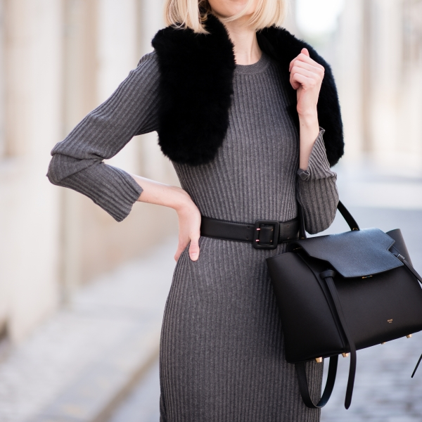 Long Knitted Dress 6