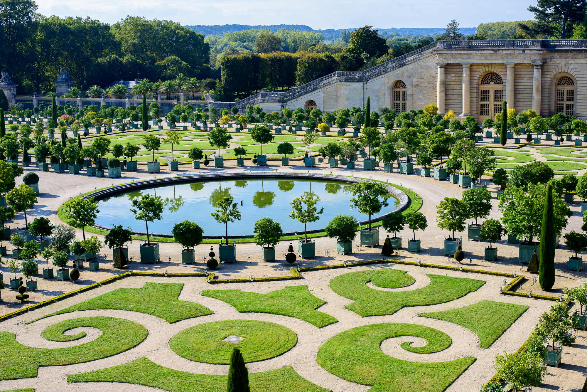 The Gardens Of Versailles Style Plaza
