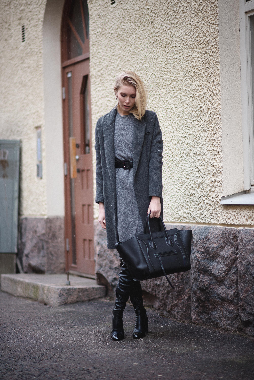 celine phantom bag outfit 2