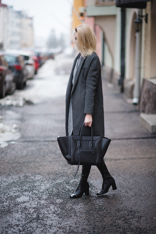 celine phantom bag outfit 4