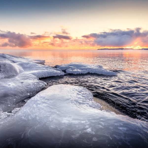 Sunset Helsinki Ice Copie Jpg