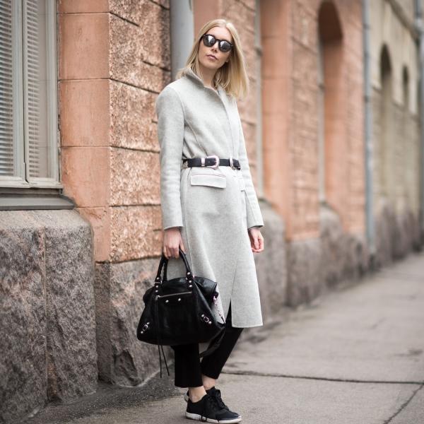 Grey Wool Coat 10
