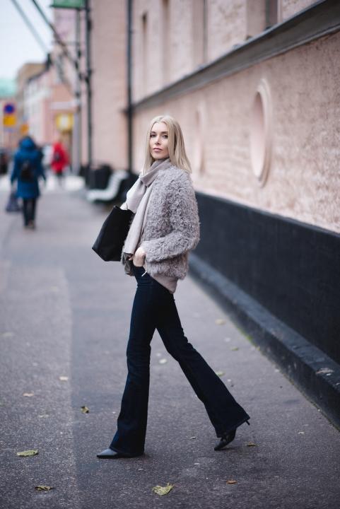 Style Plaza Lamb Fur Coat 2