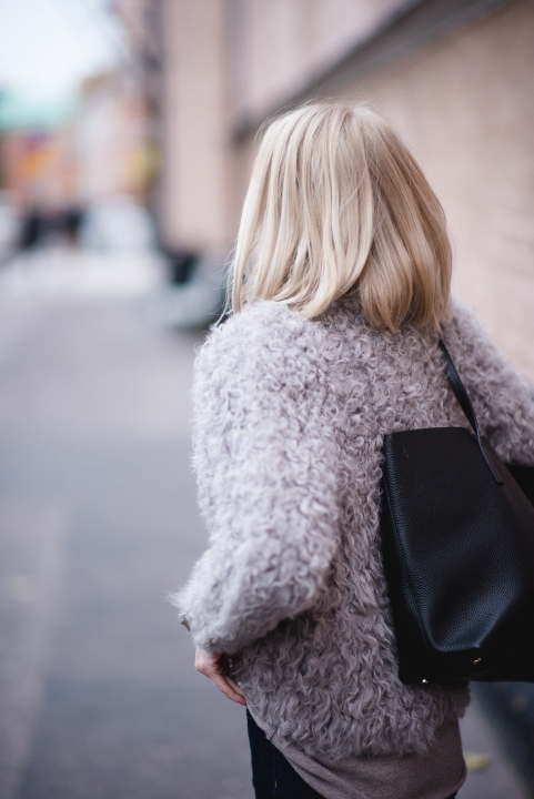 Style Plaza Lamb Fur Coat 5