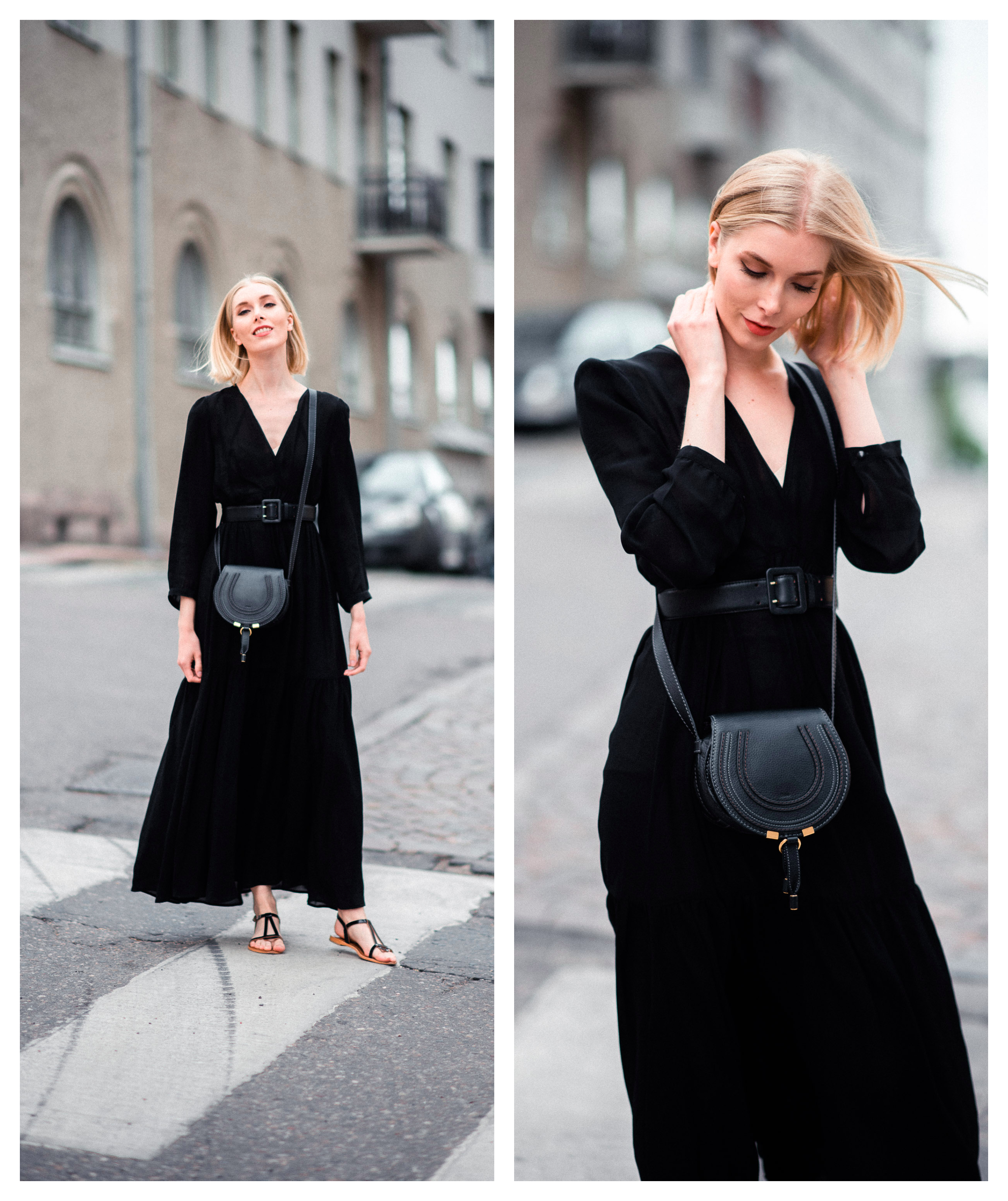Style Plaza Black Maxidress Fashion1