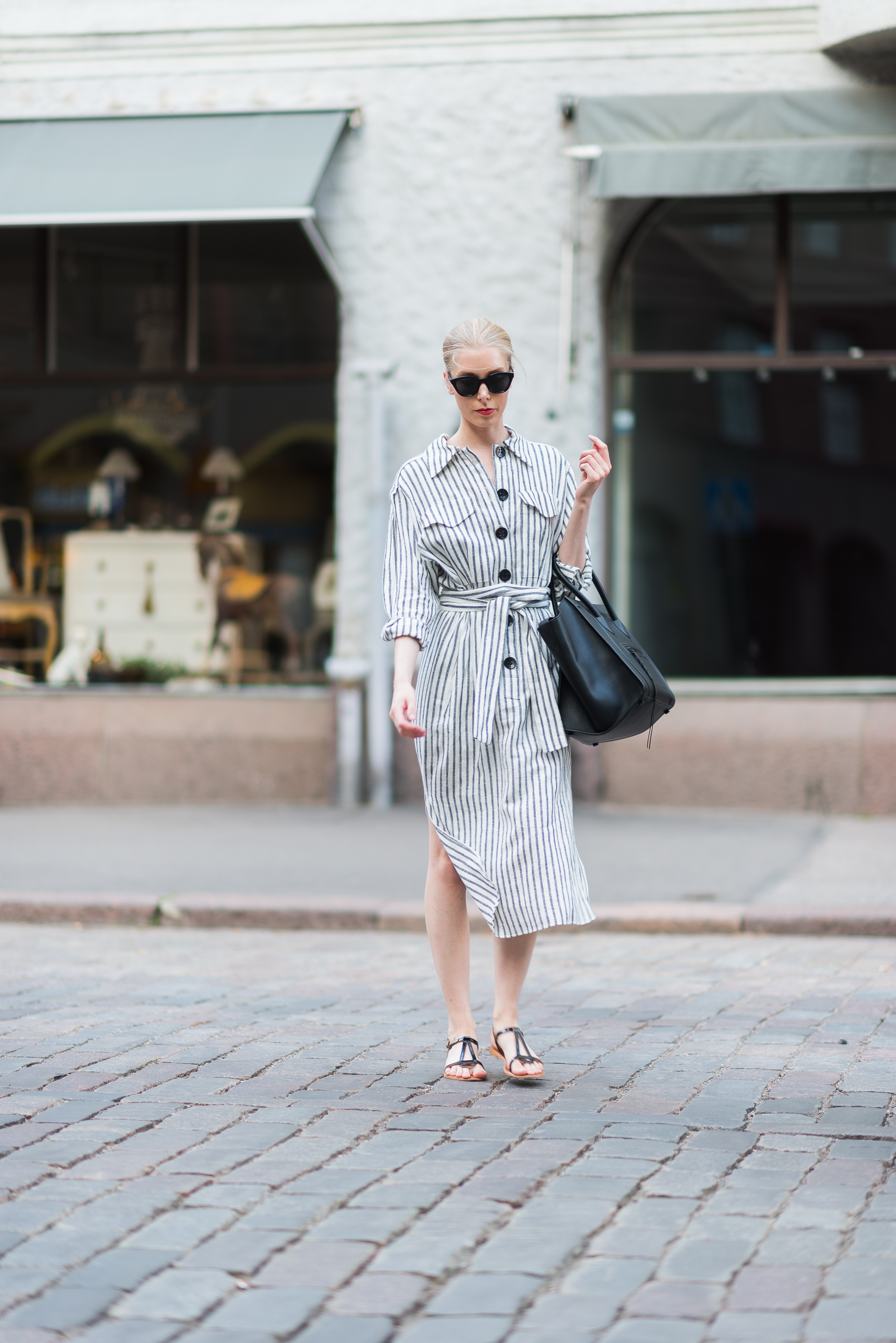 Style Plaza Striped Summer Dress 2