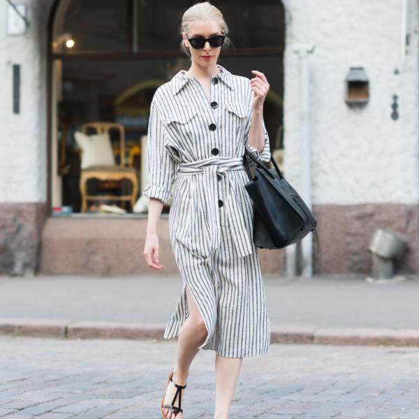 Style Plaza Striped Summer Dress 7
