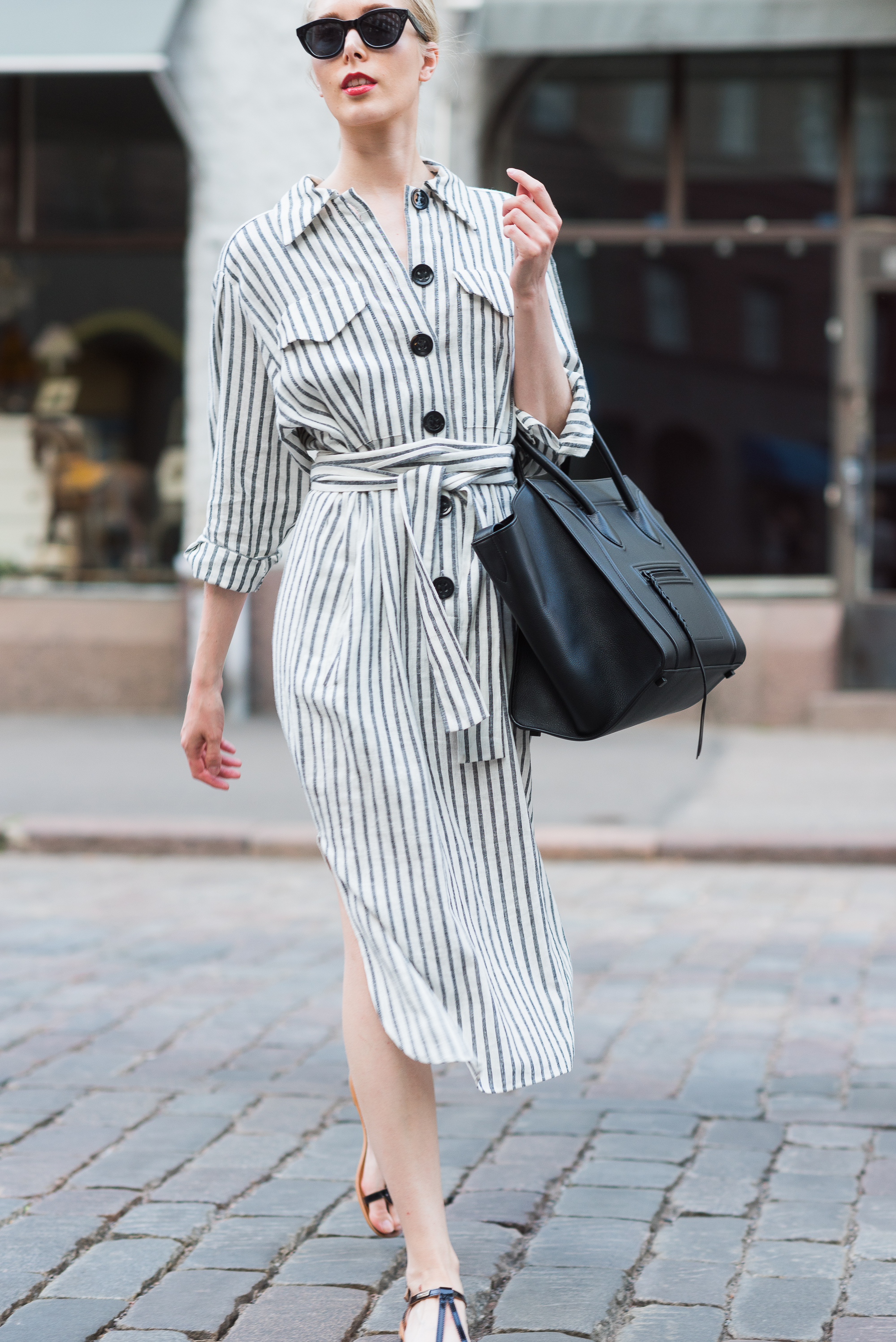 Style Plaza Striped Summer Dress 8