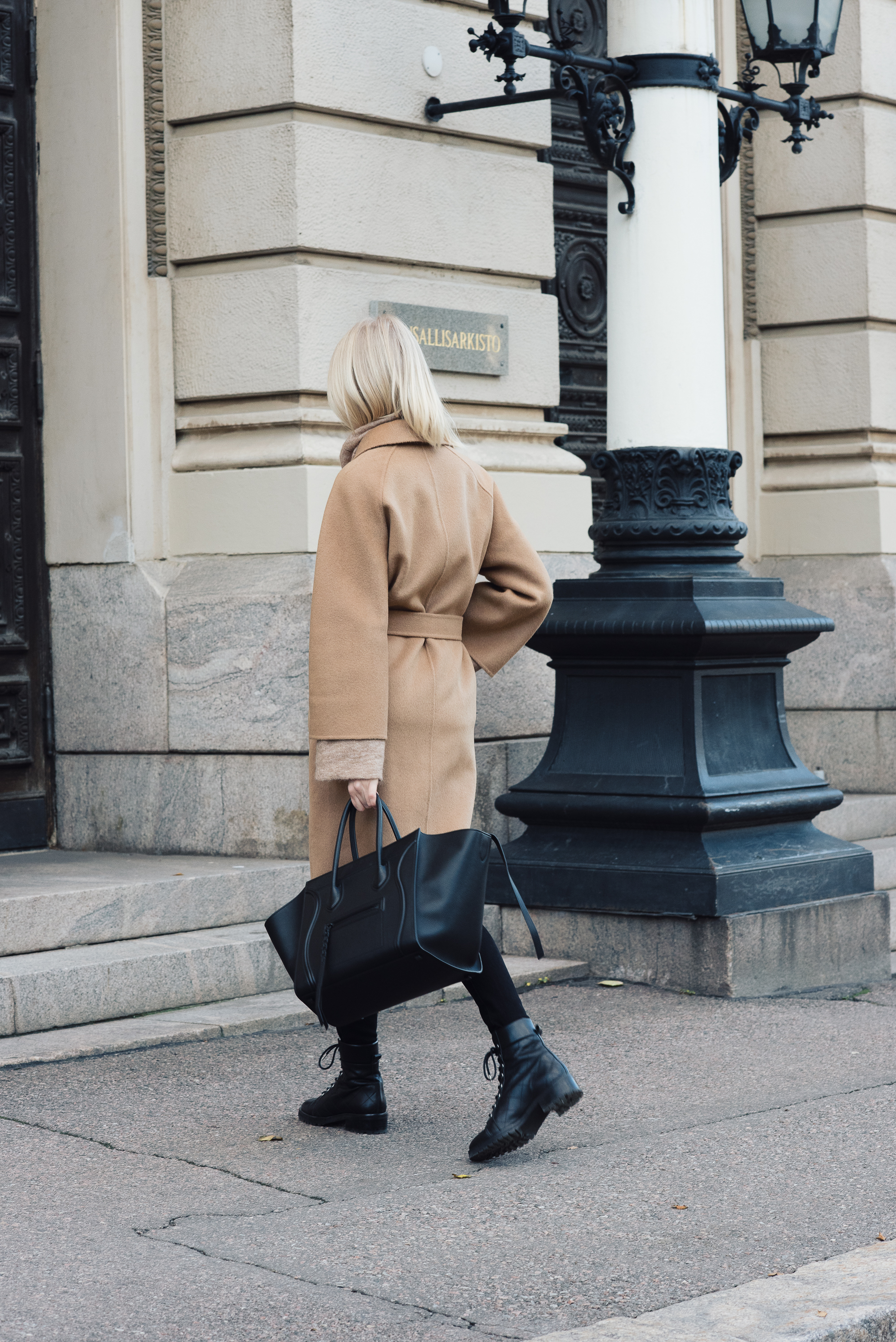 Shothecurated Camel Coat Style Plaza11