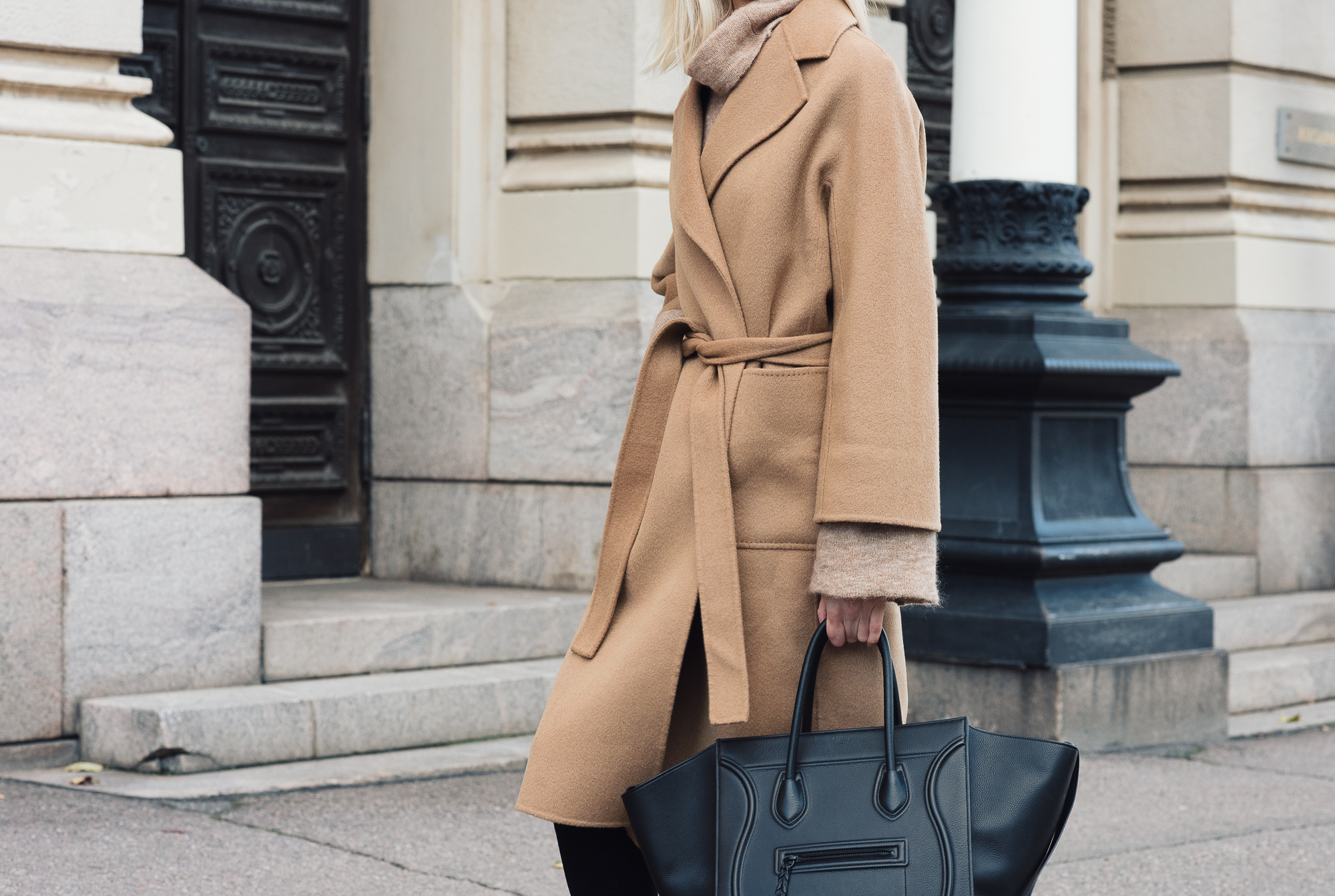 Shothecurated Camel Coat Style Plaza15