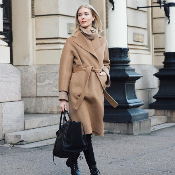 Shothecurated Camel Coat Style Plaza6