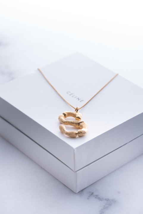 How To Order Celine Alphabet Necklace2