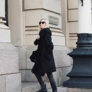 Style Plaza Lamb Fur Coat 9