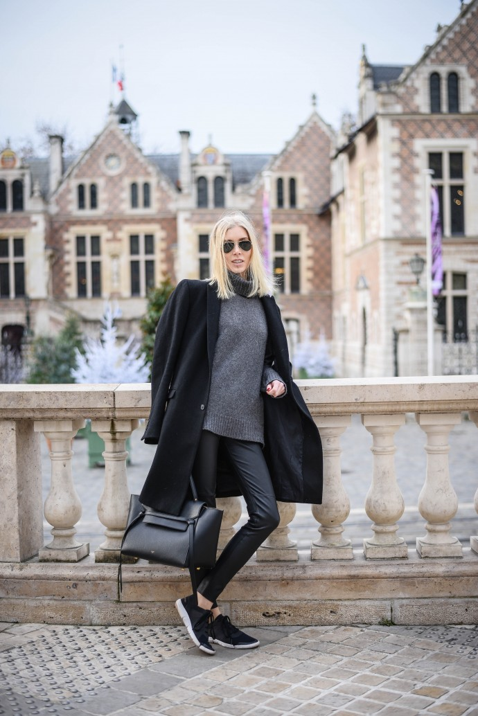 leather pants zara outfit