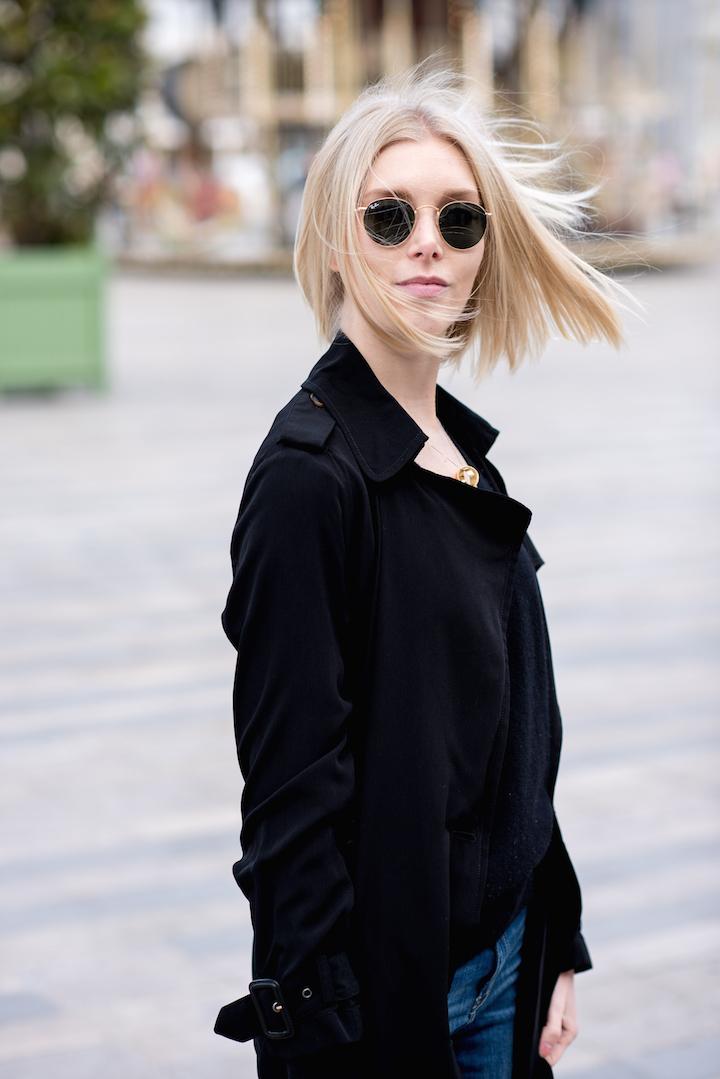 black trenc coat5