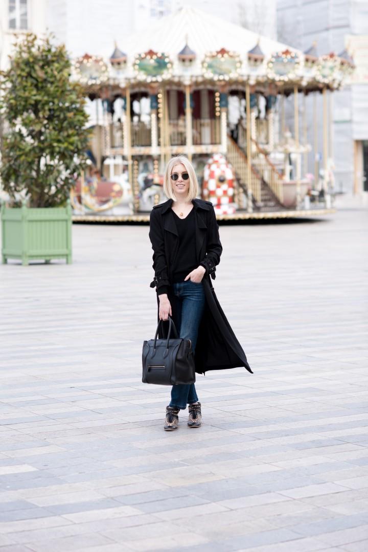 black trenc coat7