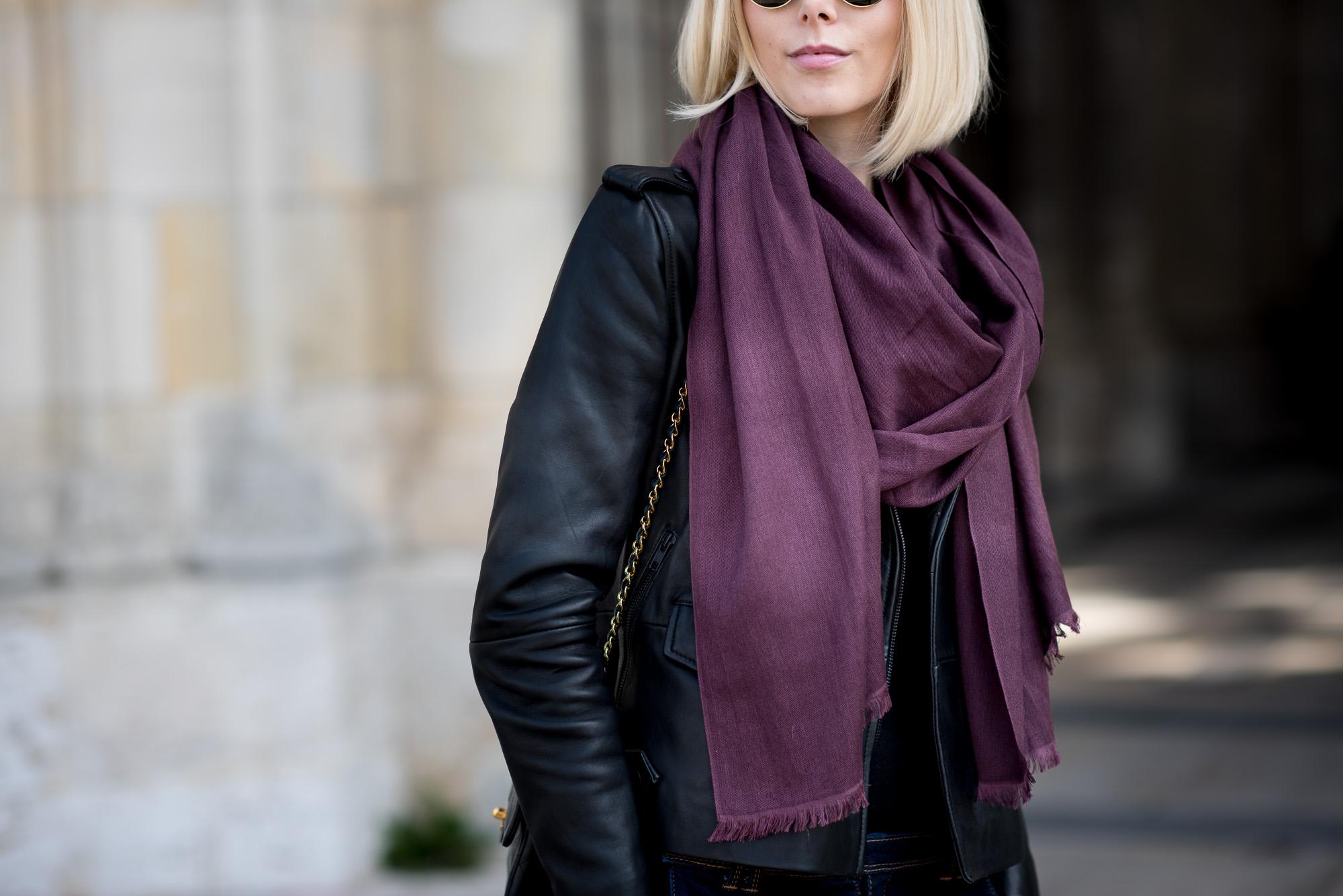 balmuir milan scarf plum
