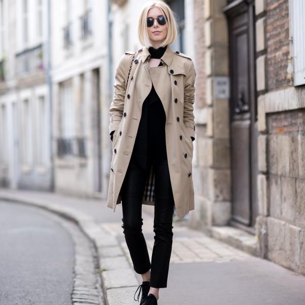 Burberry Trench Outfit 1