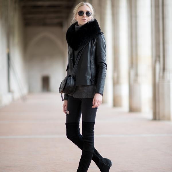 Anna Sofia Style Plaza All Black Outfit 2 1