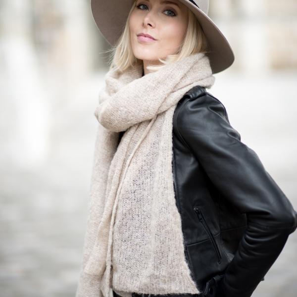 Leather Jacket And Felt Hat 4