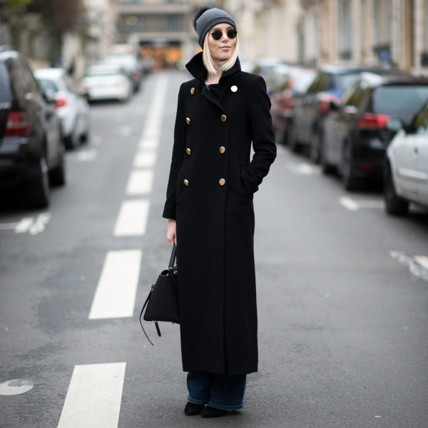 Long Wool Coat Style Plaza 1