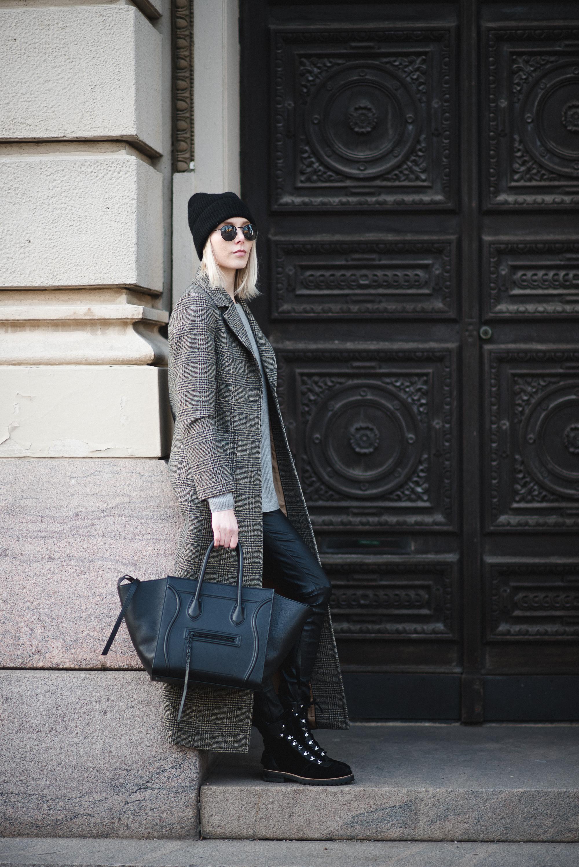 Megie Coat Style Plaza 9