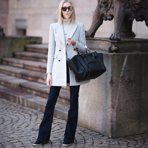 Grey Blazer Style Plaza 10