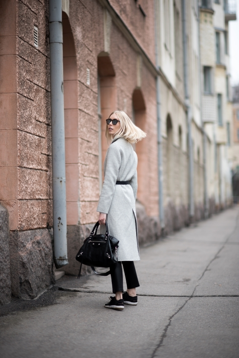 Grey Wool Coat 4