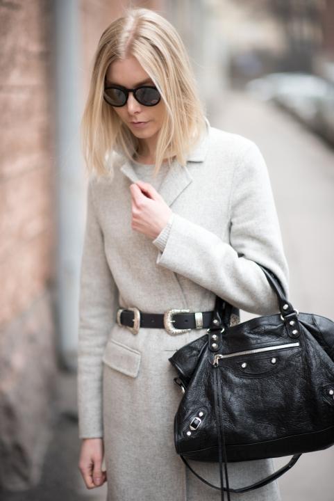 Grey Wool Coat 6