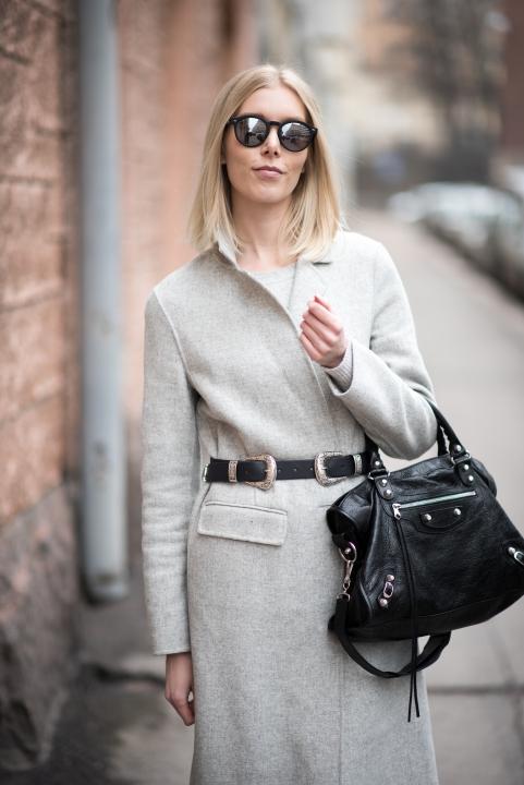 Grey Wool Coat 7