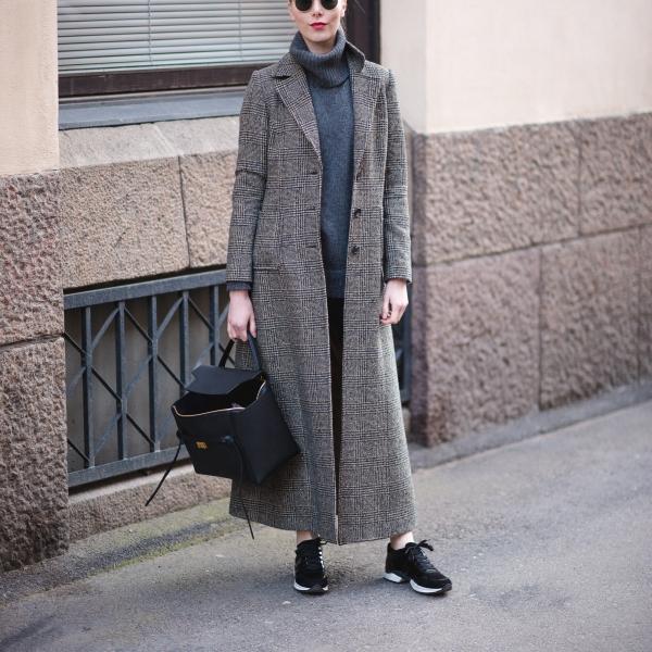 Andiata Long Wool Coat Style Plaza 7