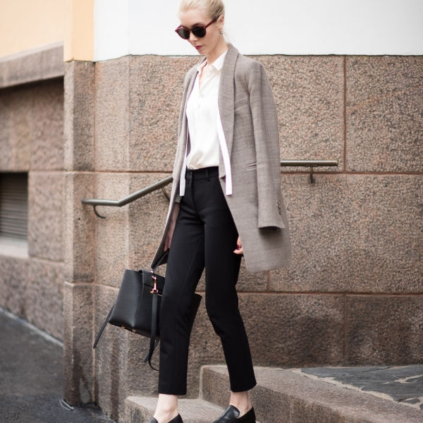 Style Plaza Checked Blazer 22