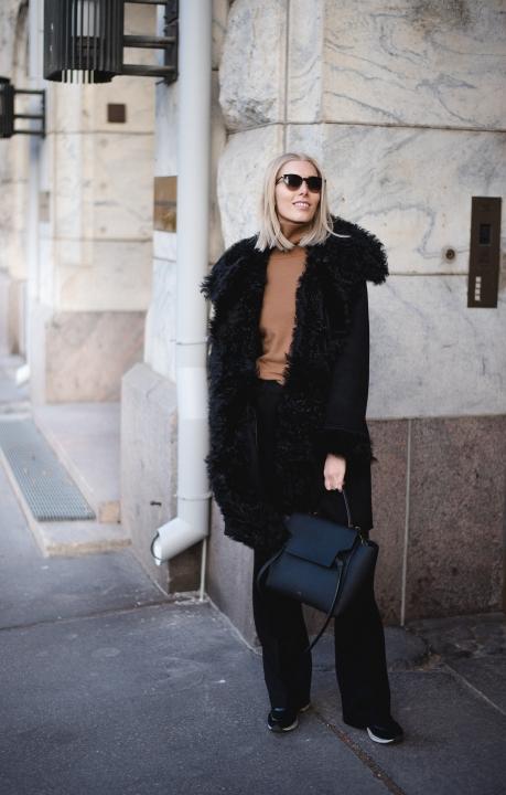 Lamb Fur Coat Style Plaza 2
