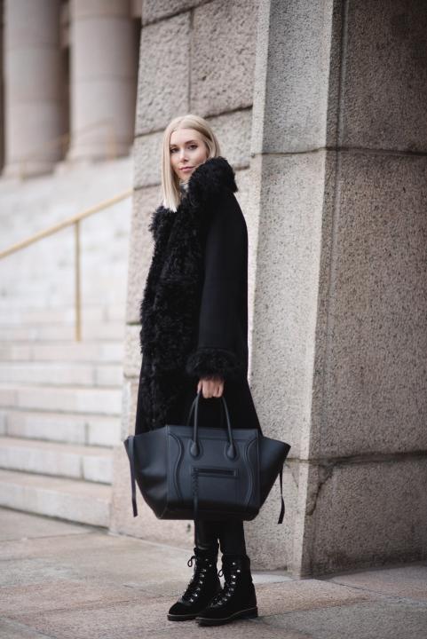 Style Plaza Lamb Fur Coat Andiata 10
