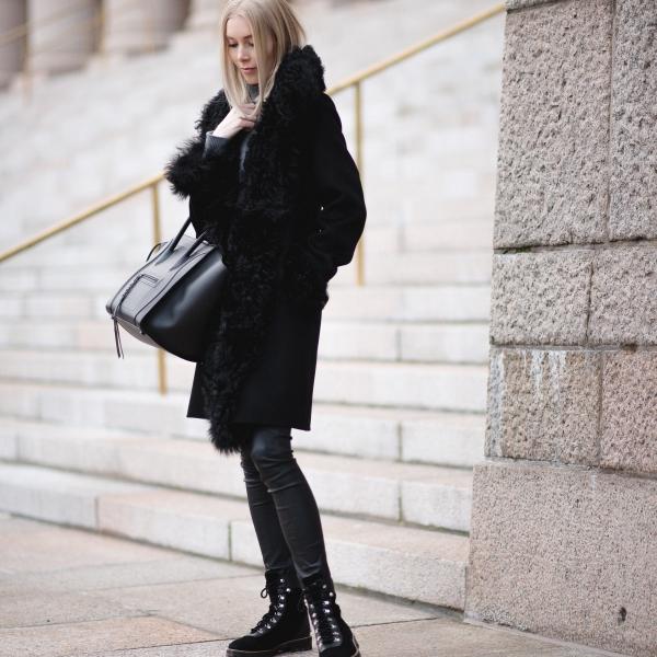 Style Plaza Lamb Fur Coat Andiata 15