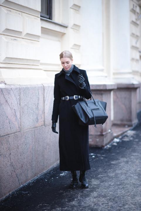 Style Plaza Maxi Length Coat 1