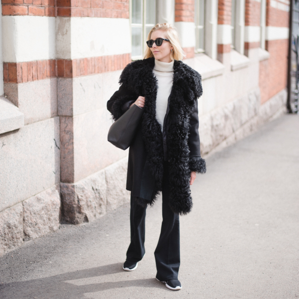 Style Plaza Lamb Fur Coat2