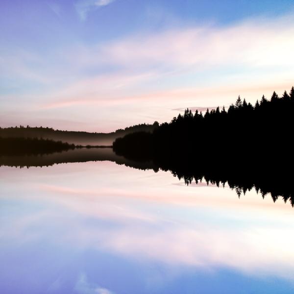 Thomas Drouault Sunset Lake Copy