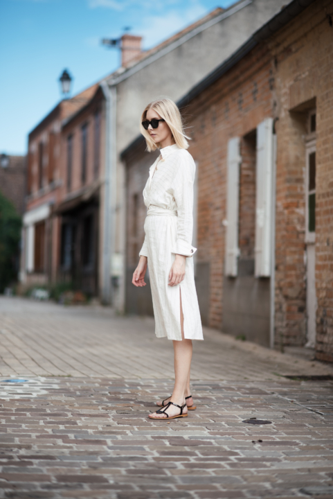 Style Plaza Linen Dress9