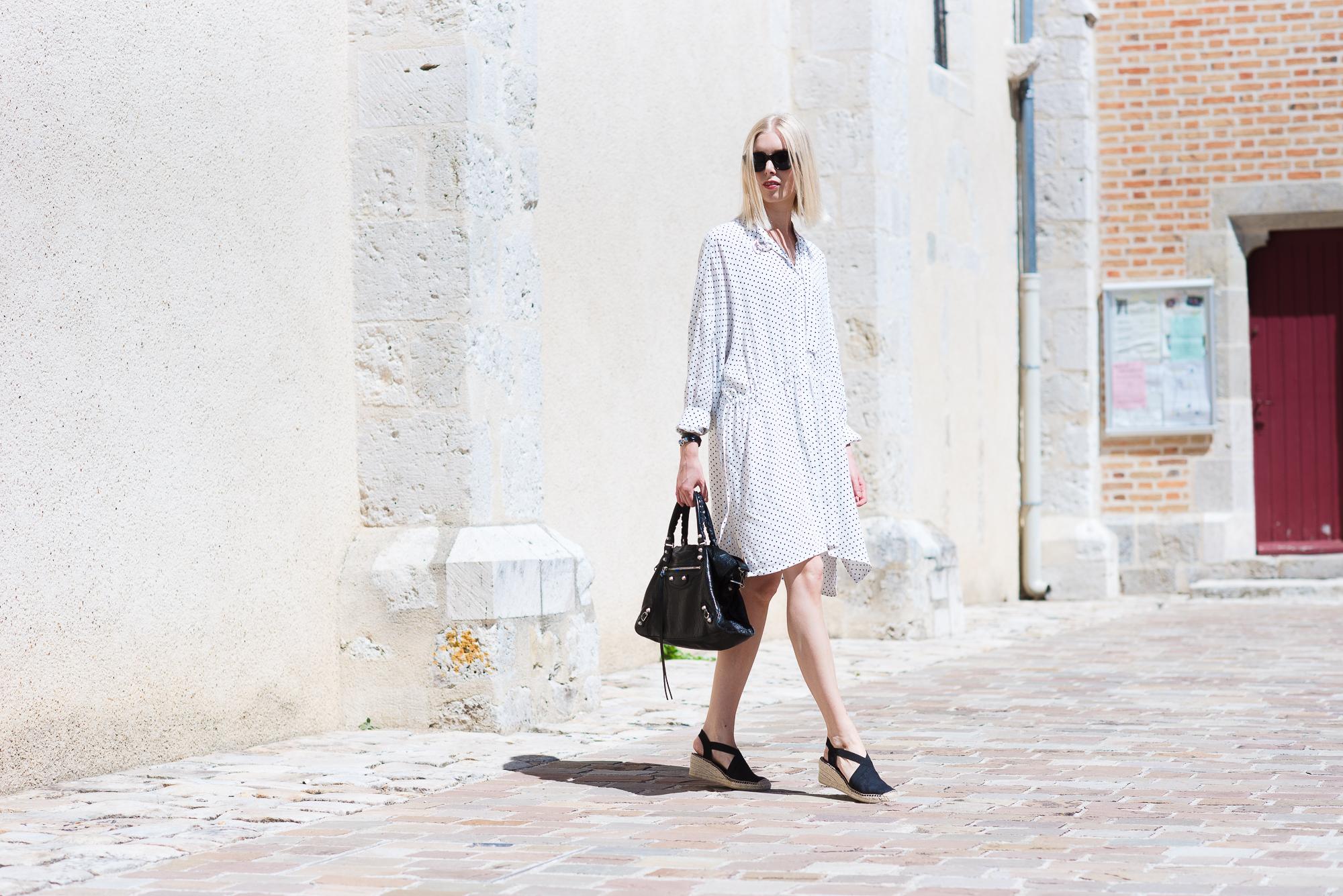 Style Plaza Polka Dot Dress101