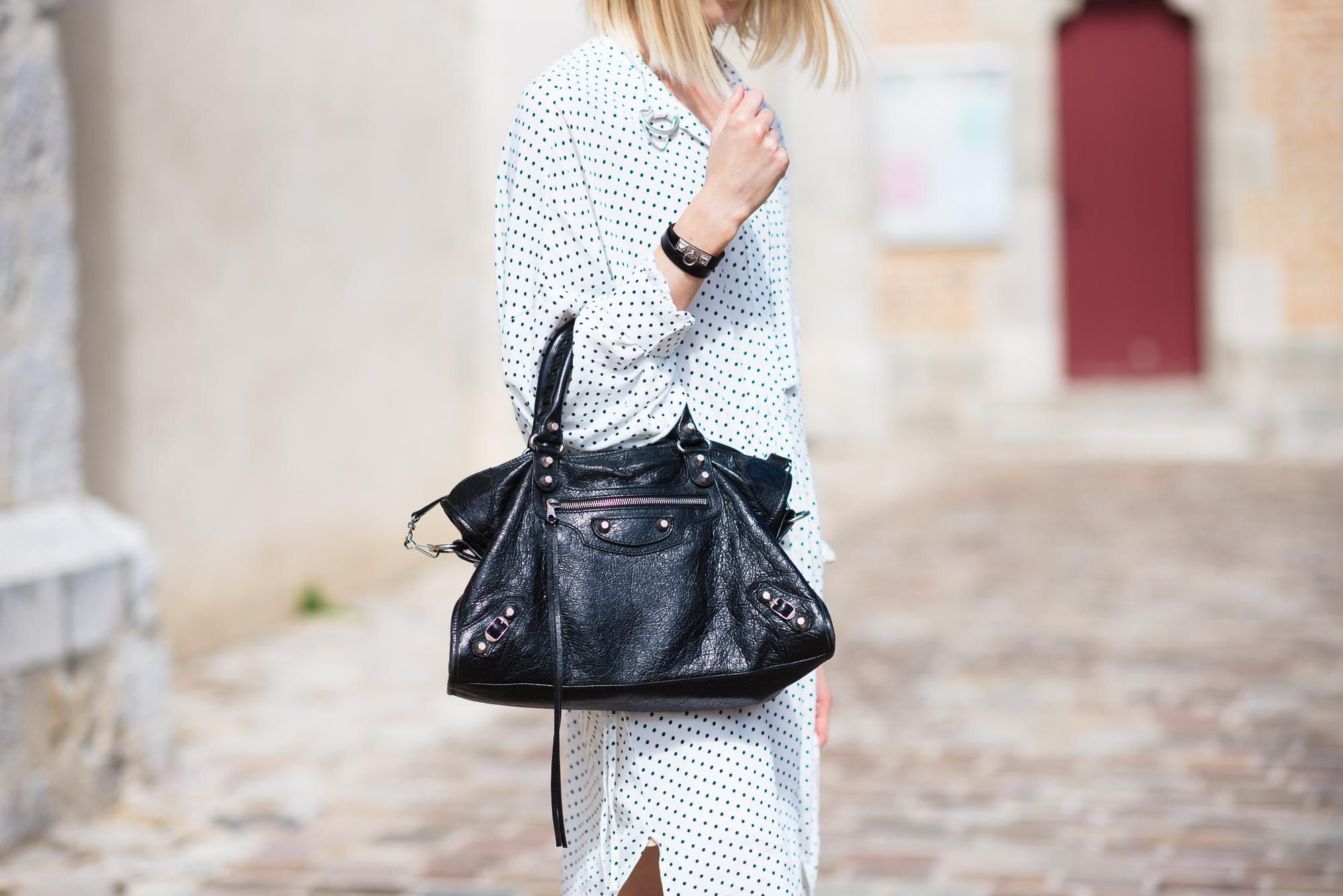 Style Plaza Polka Dot Dress6 1