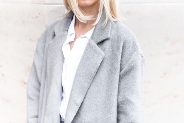 Anna Sofia Bubbleroom Grey Coat Fall 2018 Thomas Drouault 11