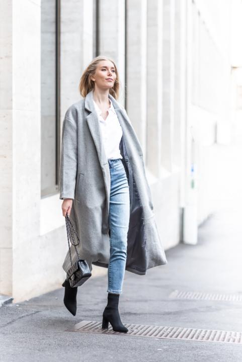 Anna Sofia Bubbleroom Grey Coat Fall 2018 Thomas Drouault 15