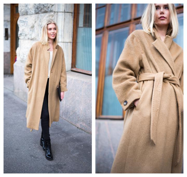 Styleplaza Camel Coat8