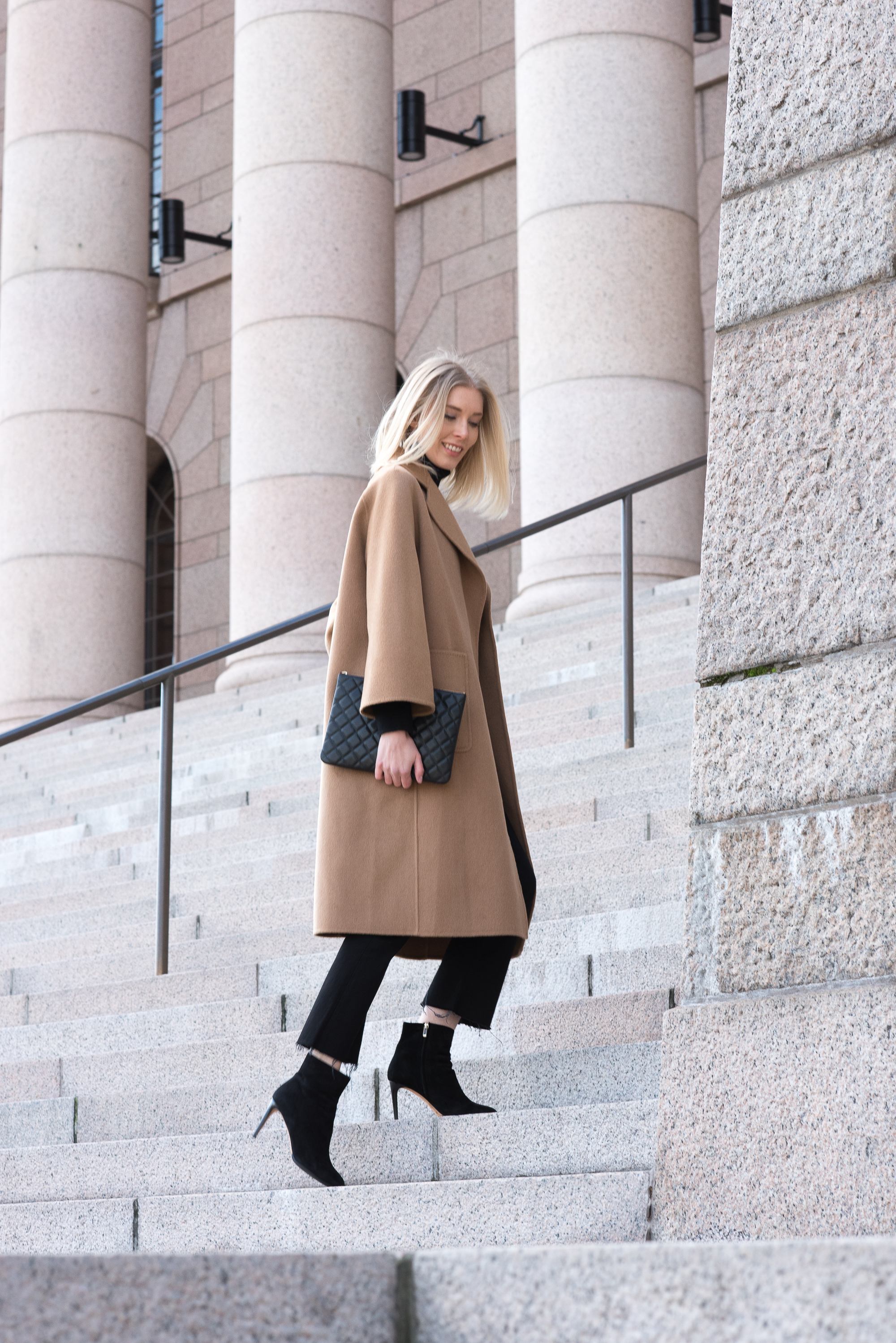 Style Plaza The Curated Camel Coat