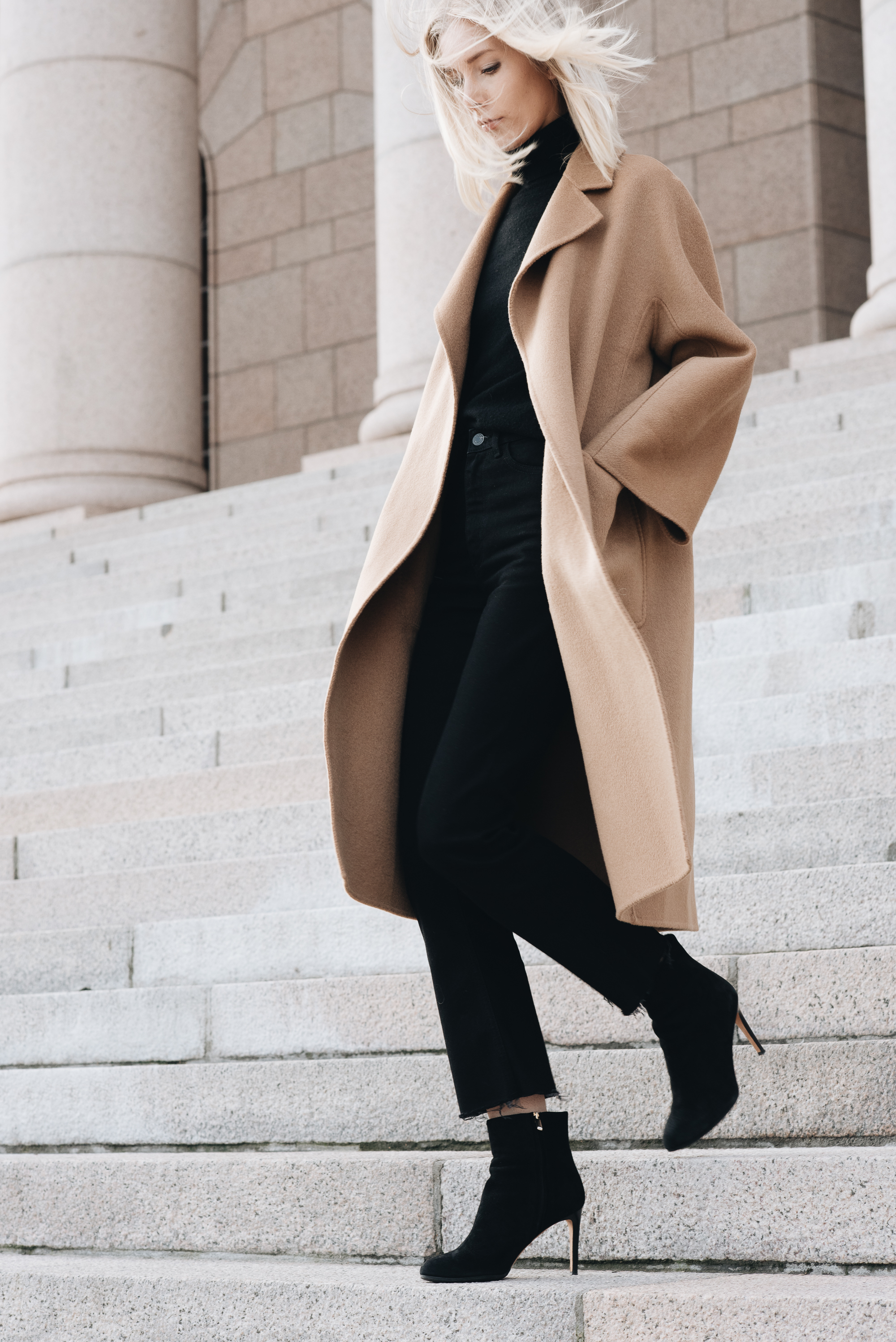 Style Plaza The Curated Camel Coat25
